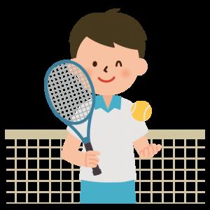 知念君とテニス